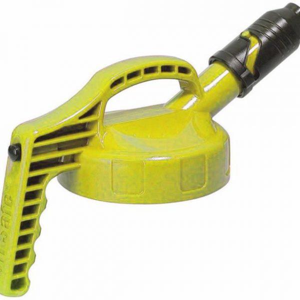 Oil-Safe-Deksel-met-Korte-Tuit-Geel5