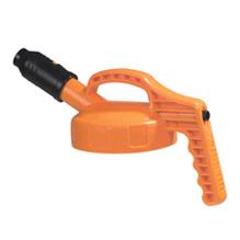 Oil-Safe-Deksel-met-Korte-Tuit-Oranje5